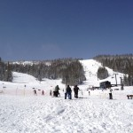 At the base of Wolf Creek Ski Area