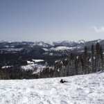 View from the slopes of Wolf Creek