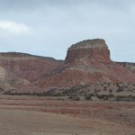 The view at Ghost Ranch
